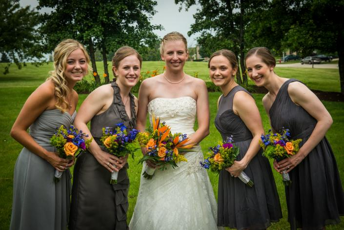 Bridal Party Flowers]